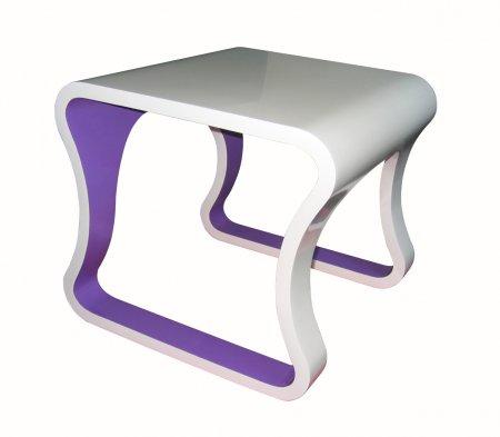 mesa gaijin branca com lilas 0 52x0 46x0 52M